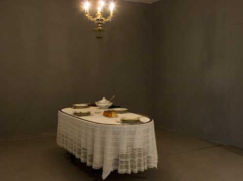 ארז ישראלי - פרט מתערוכה בגלריה גבעון