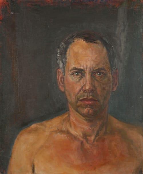 """אלי שמיר, """"דיוקן עצמי"""", 2005. הוצג בתערוכה """"חום אדמה"""" בגלריה אום אל פחם ב-2010. צילום: אבי חי"""