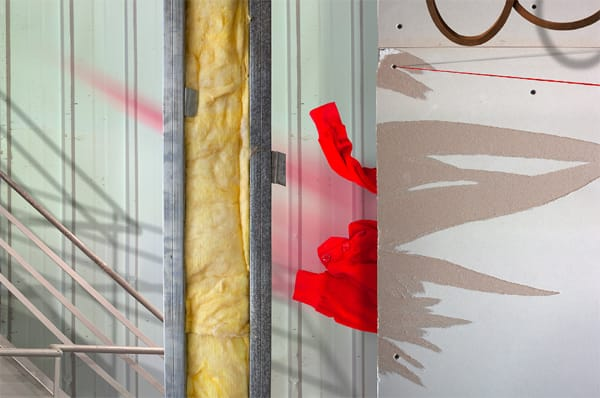 עילית אזולאי -  Red Descending a Staircase, 2013