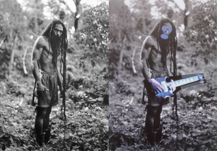 "Patrick Cariou's Book, ""Yes Rasta"" (2000) p. 118 