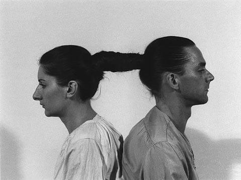 אוליי ומרינה אברמוביץ׳ - יחסים בזמן, 1977