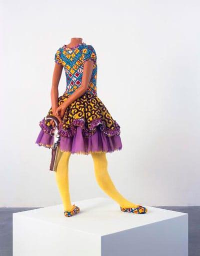"""ינקה שוניברי, """"ילדה בלרינה"""", Yinka Shonibare MBE, """"Girl Ballerina"""") 2007)"""