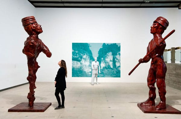 Installation view, The Human Factor, Hayward Gallery 2014, Photo Linday Nylind