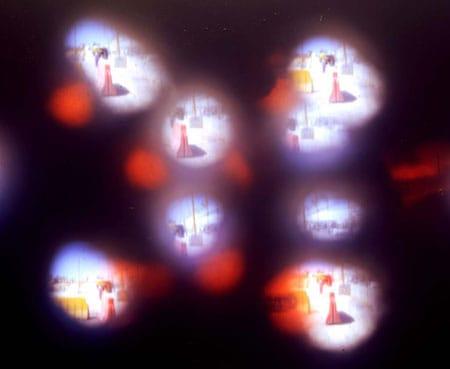 חיים דעואל לוסקי - מחסום קלנדיה (צילום ממצלמת פיתה, 2006)
