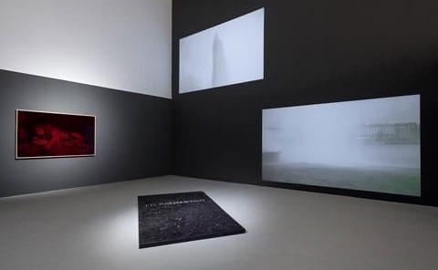 יאיר ברק - מראה הצבה בתערוכה. צילום: טל ניסים
