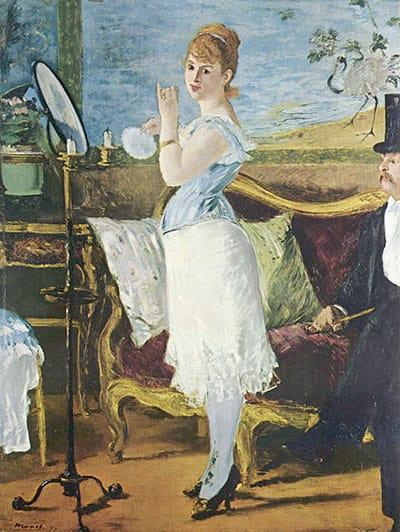 איור 54: אדוארד מאנה, 'ננה' (1877) (Kunsthalle, Hamburg)