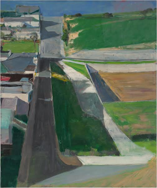 Richard Diebenkorn                                                                                                          Cityscape #  1 , 1963.  Oil on canvas, 153 x 128,3 cm San Francisco Museum of Modern Art, Purchase with funds from Trustees and friends In memory of Hector Escobosa, Brayton Wilbur, and J.D, Zellerbach.