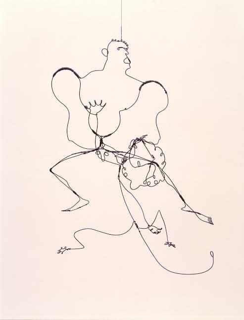 Alexander Calder (1898 - 1976)  Hercules and Lion 1928  Calder Foundation, New York © 2015 Calder Foundation, New York / DACS, London