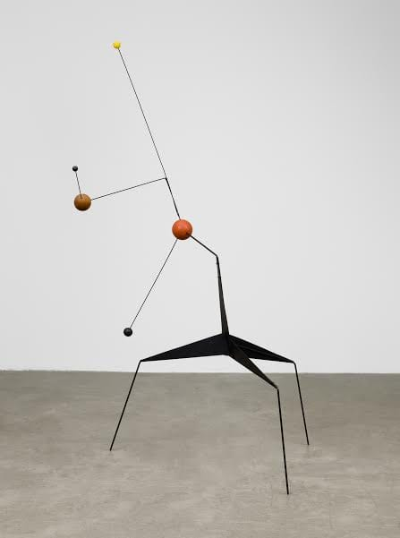 Alexander Calder (1898 - 1976)  Morning Star 1943 Painted sheet steel, steel wire, wood, paint  1948 x 1228 x 1160 mm Museum of Modern Art, New York; Gift of the Artist, 1966 © 2015 Calder Foundation, New York / DACS, London