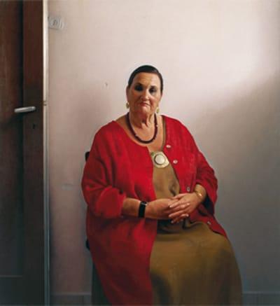 ביאנקה אשל גרשוני בציור של ארם גרשוני