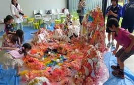 Installation workshop at the Ichihara Lakeside Museum, Japan