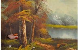 מזרק דיו ביער אקזוטי