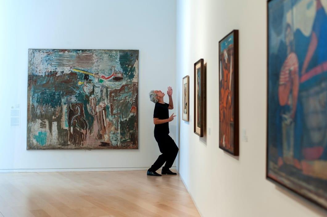 """ג'וזף שפרינצק, """"ההחלפה"""", מוזיאון תל-אביב. צילום: יאיר מיוחס"""