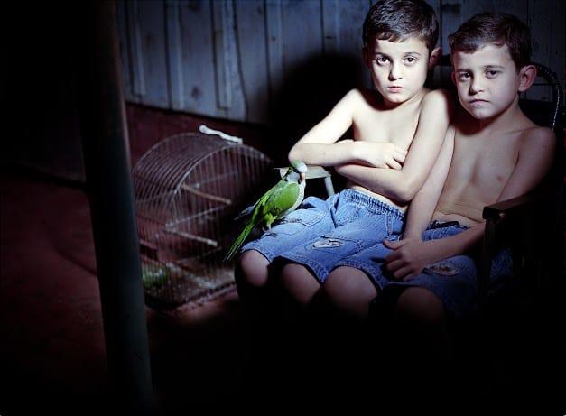 """נוגה שטיינר, """"רוברטו ואנאטו"""", 2010, מתוך הסדרה """"תאומים – מוסר כפול"""", המרכז האקדמי ויצו חיפה"""