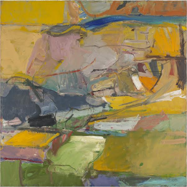 Richard Diebenkorn Berkeley #57, 1955 Oil on canvas, 149.2 x 149.2 cm San Francisco Museum of Modern Art. Bequest of Joseph M. Bransten in memory of Ellen Hart Bransten © 2015 The Richard Diebenkorn Foundation