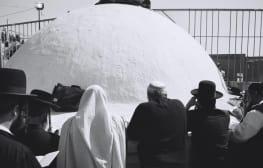 בלגן קדוש: תצלומי ההילולה של שוקה גלוטמן