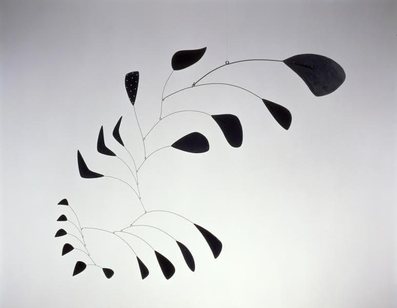 Alexander Calder (1898 - 1976)  Vertical Foliage 1941 Sheet metal, wire, and paint 1359 x 1676 mm Calder Foundation, New York © 2015 Calder Foundation, New York / DACS, London