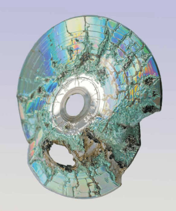 Paul Kneale, Free software 01, 2015. Compact disc, approx. 12/12 cm. Courtesy: the artist and Arttuner