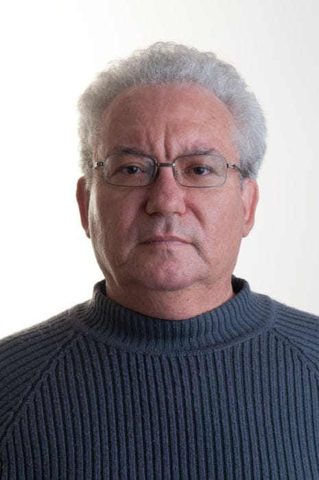 פרופ' חיים מאור. צילום: דני מכליס, אוניברסיטת בן-גוריון בנגב